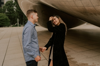 ENGAGEMENT ADAM & KATHY / CHICAGO 2019