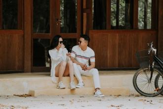 Elopement Wedding Phuong&Nga - Six Sense. Their journey began....